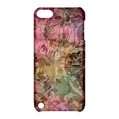 Texture Background Spring Colorful Apple Ipod Touch 5 Hardshell Case With Stand