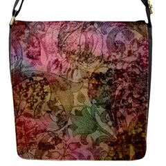 Texture Background Spring Colorful Flap Messenger Bag (s)