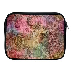 Texture Background Spring Colorful Apple Ipad 2/3/4 Zipper Cases