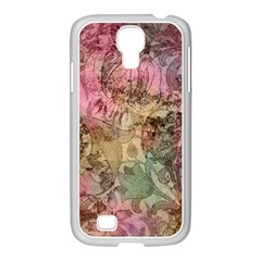 Texture Background Spring Colorful Samsung Galaxy S4 I9500/ I9505 Case (white)