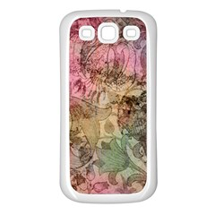 Texture Background Spring Colorful Samsung Galaxy S3 Back Case (white)