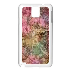 Texture Background Spring Colorful Samsung Galaxy Note 3 N9005 Case (white)