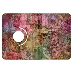 Texture Background Spring Colorful Kindle Fire Hdx Flip 360 Case