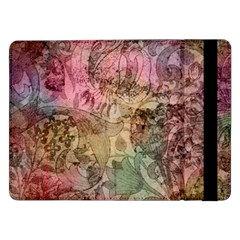 Texture Background Spring Colorful Samsung Galaxy Tab Pro 12 2  Flip Case