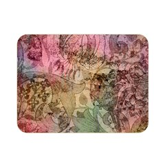 Texture Background Spring Colorful Double Sided Flano Blanket (mini)