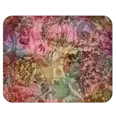 Texture Background Spring Colorful Double Sided Flano Blanket (medium)