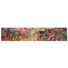 Texture Background Spring Colorful Flano Scarf (small)
