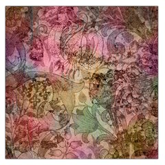 Texture Background Spring Colorful Large Satin Scarf (square)