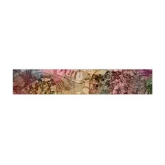 Texture Background Spring Colorful Flano Scarf (mini)