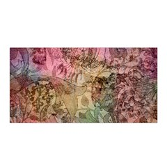 Texture Background Spring Colorful Satin Wrap