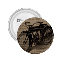 Vintage Collage Motorcycle Indian 2 25  Buttons