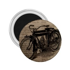 Vintage Collage Motorcycle Indian 2 25  Magnets