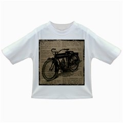 Vintage Collage Motorcycle Indian Infant/Toddler T-Shirts