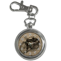 Vintage Collage Motorcycle Indian Key Chain Watches