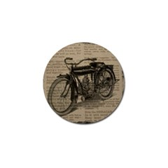 Vintage Collage Motorcycle Indian Golf Ball Marker (10 Pack)