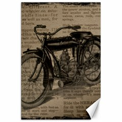 Vintage Collage Motorcycle Indian Canvas 20  X 30
