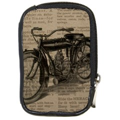 Vintage Collage Motorcycle Indian Compact Camera Cases
