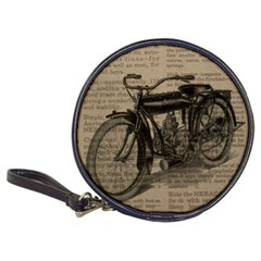Vintage Collage Motorcycle Indian Classic 20-CD Wallets