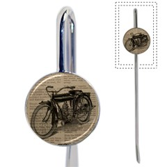 Vintage Collage Motorcycle Indian Book Mark