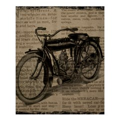Vintage Collage Motorcycle Indian Shower Curtain 60  X 72  (medium)