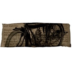 Vintage Collage Motorcycle Indian Body Pillow Case (dakimakura)
