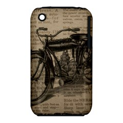 Vintage Collage Motorcycle Indian Iphone 3s/3gs