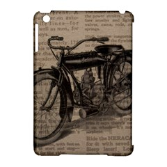 Vintage Collage Motorcycle Indian Apple Ipad Mini Hardshell Case (compatible With Smart Cover)