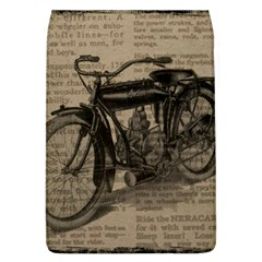 Vintage Collage Motorcycle Indian Flap Covers (l)