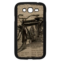 Vintage Collage Motorcycle Indian Samsung Galaxy Grand Duos I9082 Case (black)
