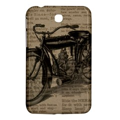 Vintage Collage Motorcycle Indian Samsung Galaxy Tab 3 (7 ) P3200 Hardshell Case