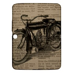 Vintage Collage Motorcycle Indian Samsung Galaxy Tab 3 (10 1 ) P5200 Hardshell Case