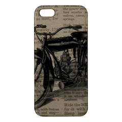 Vintage Collage Motorcycle Indian Iphone 5s/ Se Premium Hardshell Case