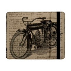 Vintage Collage Motorcycle Indian Samsung Galaxy Tab Pro 8 4  Flip Case