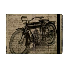 Vintage Collage Motorcycle Indian Ipad Mini 2 Flip Cases
