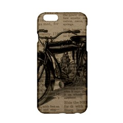 Vintage Collage Motorcycle Indian Apple Iphone 6/6s Hardshell Case