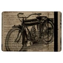 Vintage Collage Motorcycle Indian Ipad Air 2 Flip