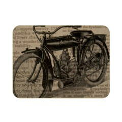 Vintage Collage Motorcycle Indian Double Sided Flano Blanket (mini)