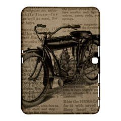 Vintage Collage Motorcycle Indian Samsung Galaxy Tab 4 (10 1 ) Hardshell Case