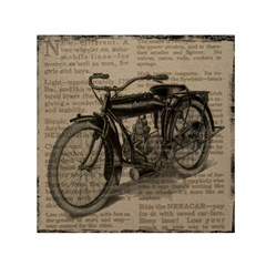 Vintage Collage Motorcycle Indian Small Satin Scarf (square)
