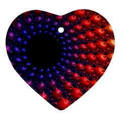 Fractal Mathematics Abstract Ornament (heart)