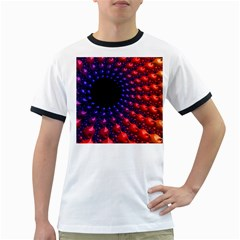Fractal Mathematics Abstract Ringer T Shirts