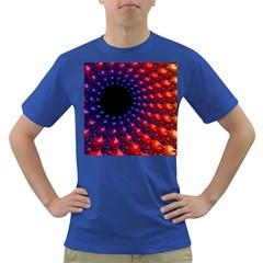Fractal Mathematics Abstract Dark T-Shirt