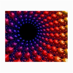 Fractal Mathematics Abstract Small Glasses Cloth (2 Side)