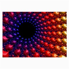Fractal Mathematics Abstract Large Glasses Cloth (2 Side)