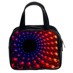 Fractal Mathematics Abstract Classic Handbags (2 Sides)