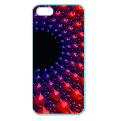 Fractal Mathematics Abstract Apple Seamless Iphone 5 Case (color)
