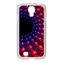 Fractal Mathematics Abstract Samsung Galaxy S4 I9500/ I9505 Case (white)
