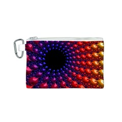 Fractal Mathematics Abstract Canvas Cosmetic Bag (s)