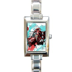 Wallpaper Background Watercolors Rectangle Italian Charm Watch