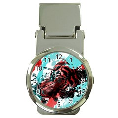 Wallpaper Background Watercolors Money Clip Watches